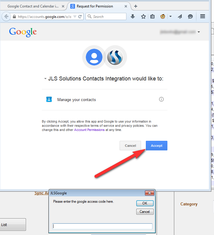 Google Contact and Calendar integration - JLS Solutions Q&A